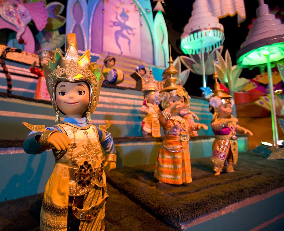 Et's A Small World une attraction de Disneyland
