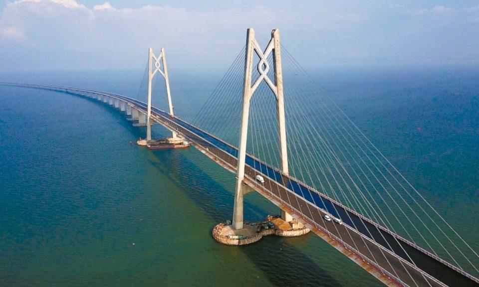 Hong Kong-Zhuhai- Macau, le pont le plus long au monde
