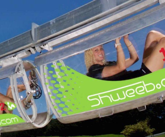 Le Shweeb, un moyen de transport écolo