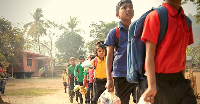 Une école très écolo en Inde