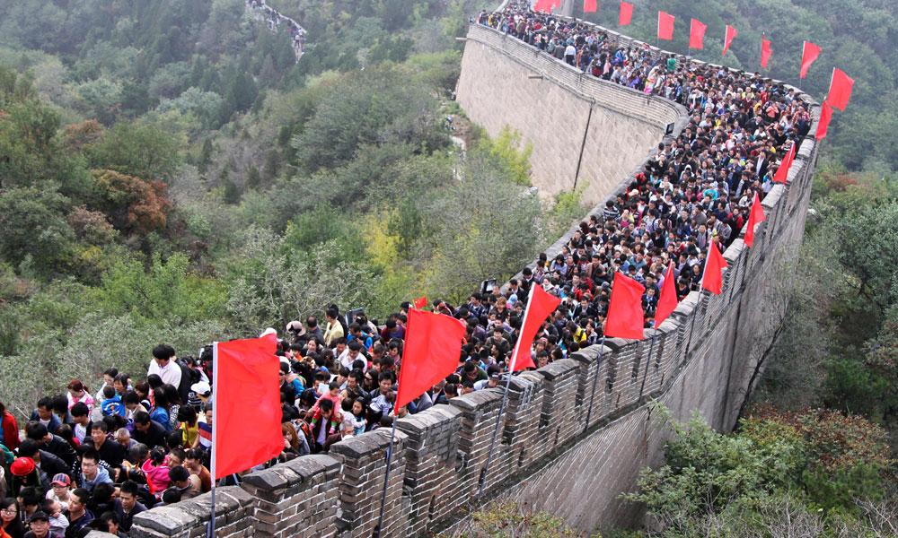 Voyage en Chine avec des images et de la musique