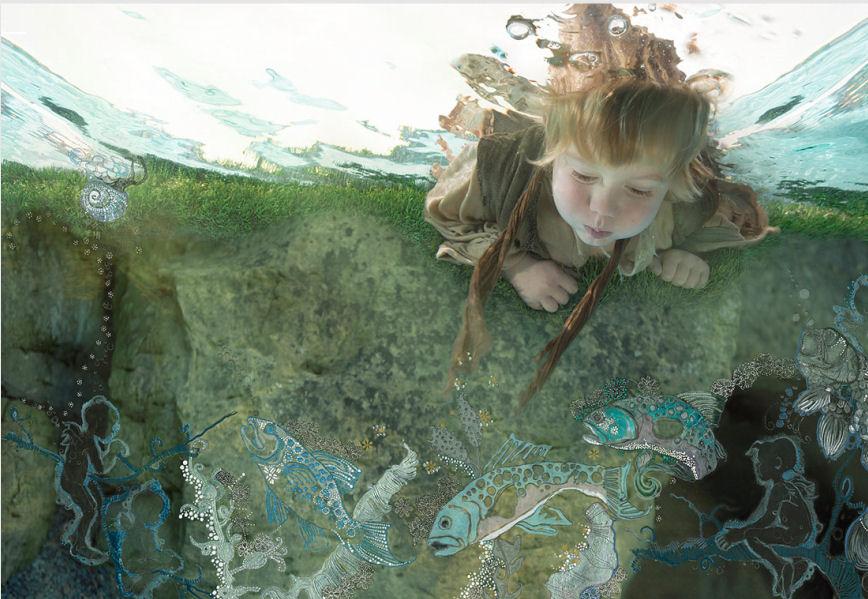 Zena Holloway et ses splendides photographies sous-marines