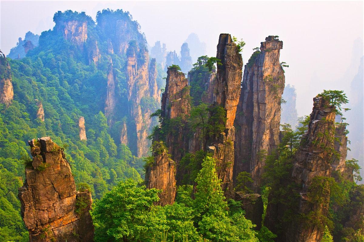 Zhangjiajie, une région montagneuse très riche