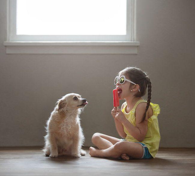 Un duo humain-canin très mignon