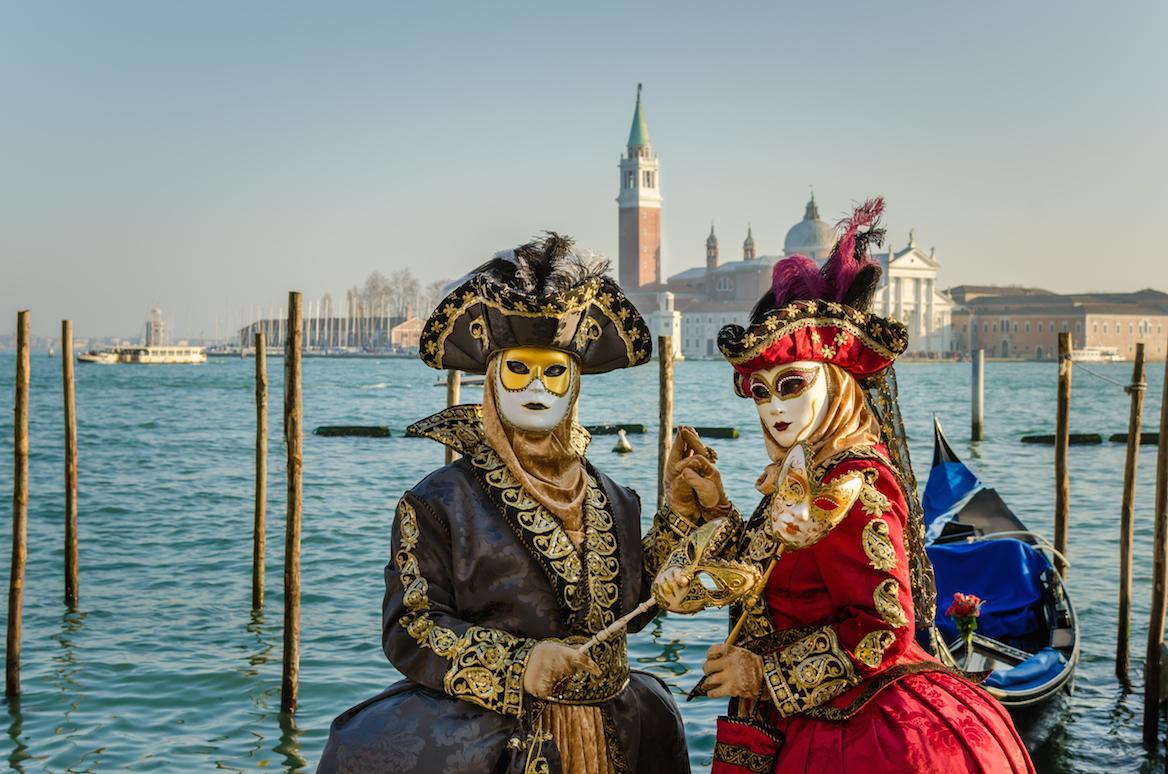 Venise et son incroyable carnaval annuel plein de beautés