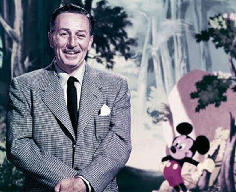 Walt Disney, le papa des personnages Disney
