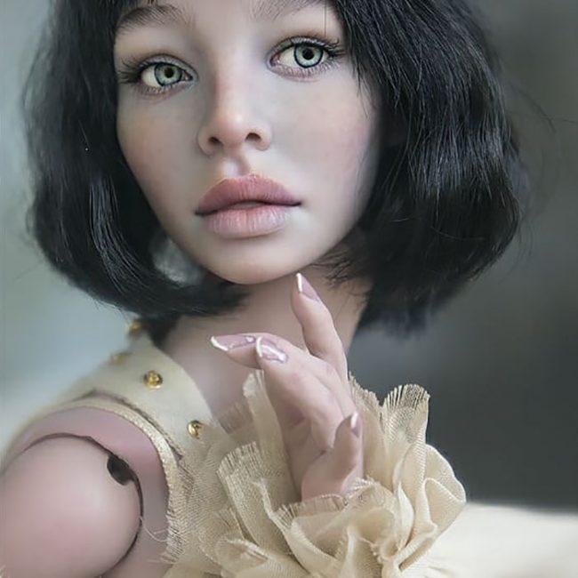 Des poupées qui ressemblent aux humains