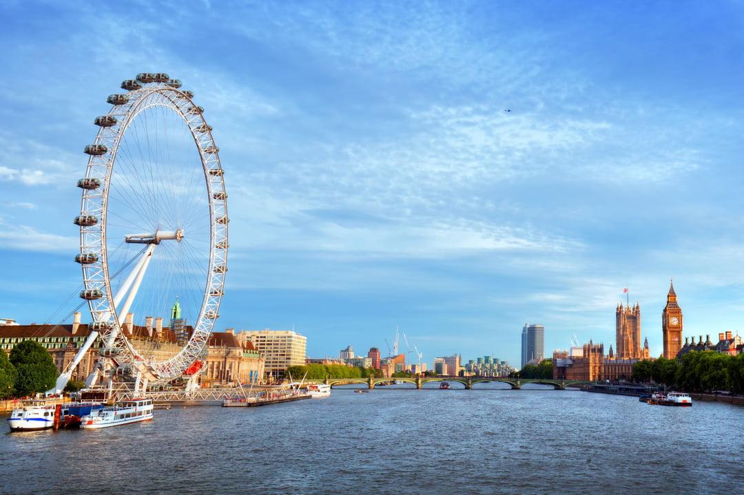 Londres, la capitale de l'Angleterre, un voyage gratuit