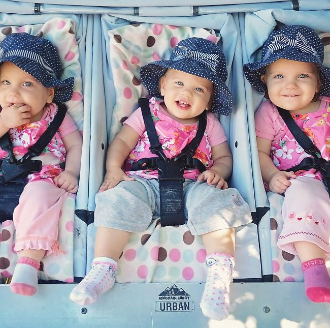 Jumeaux, puis triplées