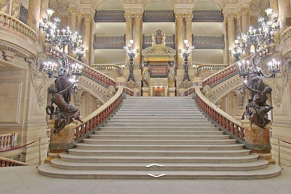 Le palais Garnier aussi appelé opéra de Paris