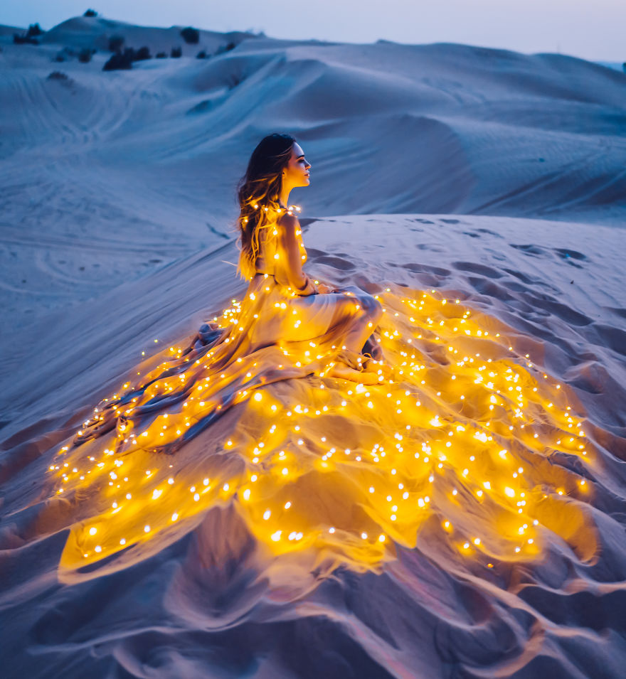 Combinaison de robes et de paysages, c'est magique!