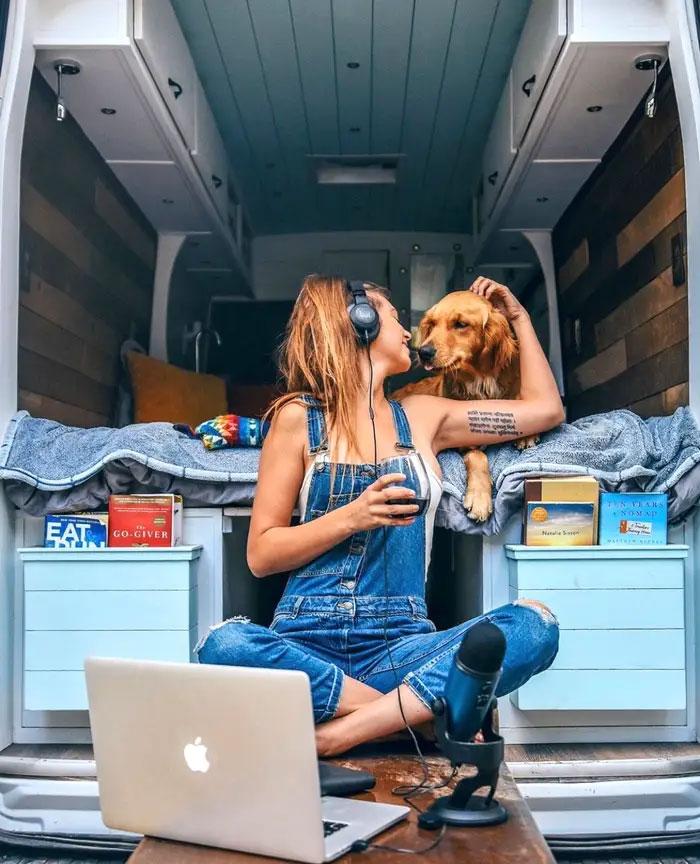 Voyager dans un van, un rêve devenu réalité!