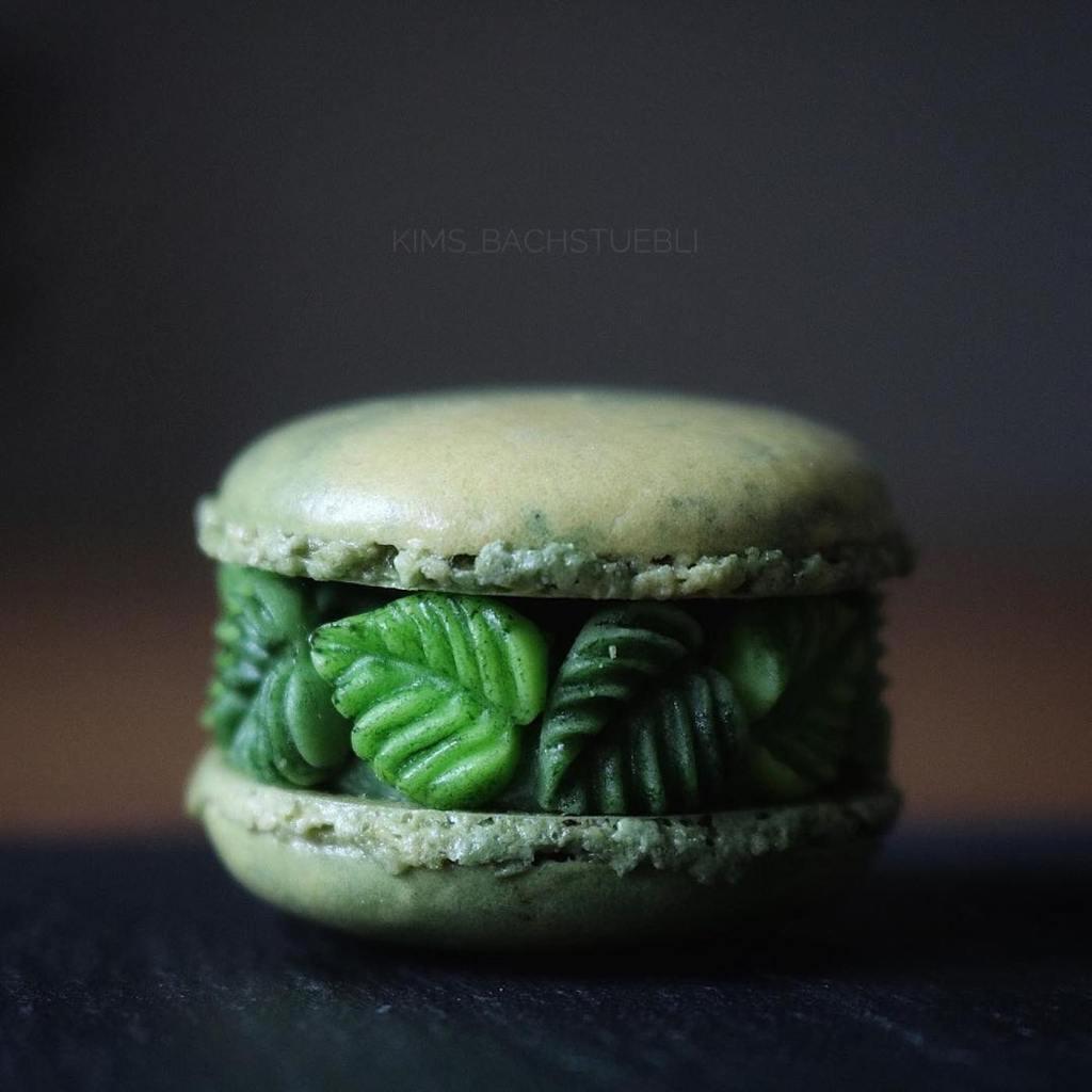 Des macarons créatifs créés par une fleuriste Suisse