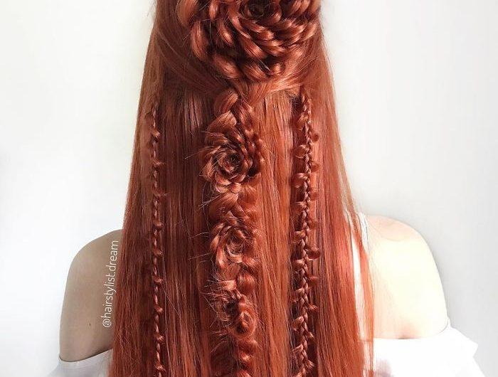 Des coiffures de rêve réalisées par une ado Allemande