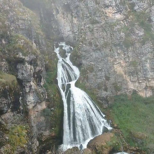 La cascade la mariée, au Pérou, une merveille