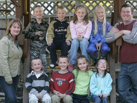 Les septuplés McCaughey, les premiers à avoir survécu