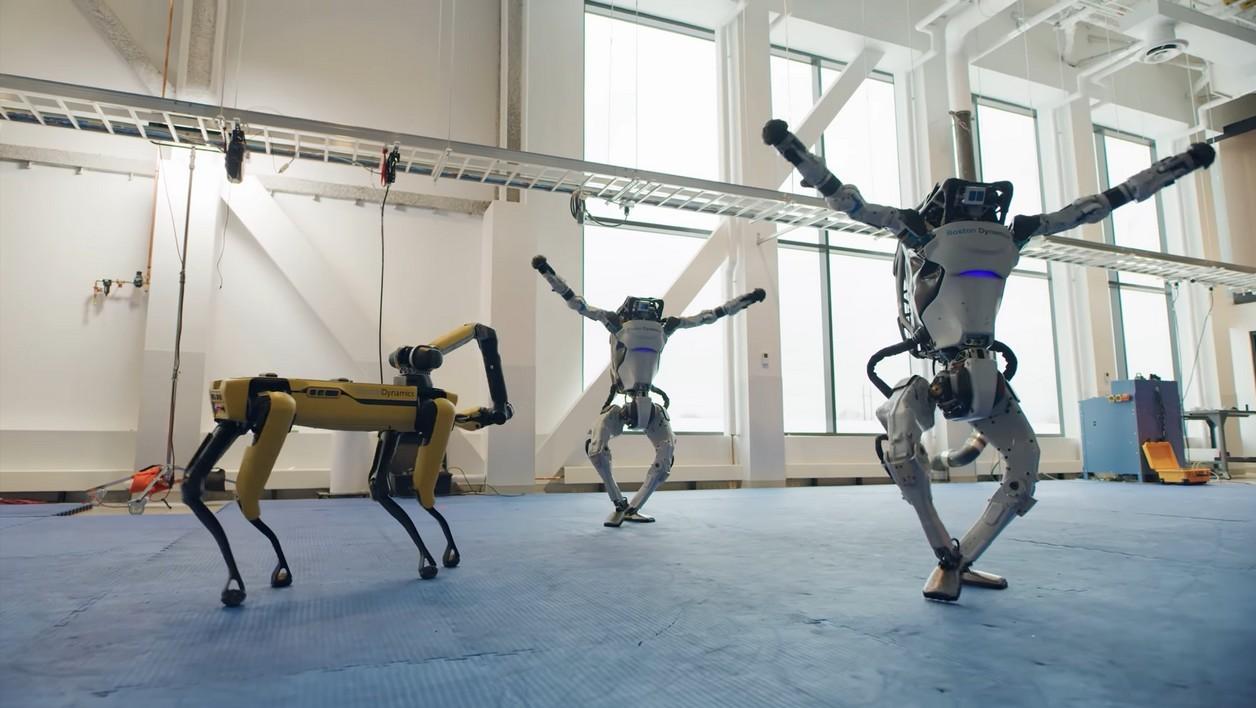 La danse des robots de Boston Dynamics (Superbe vidéo)